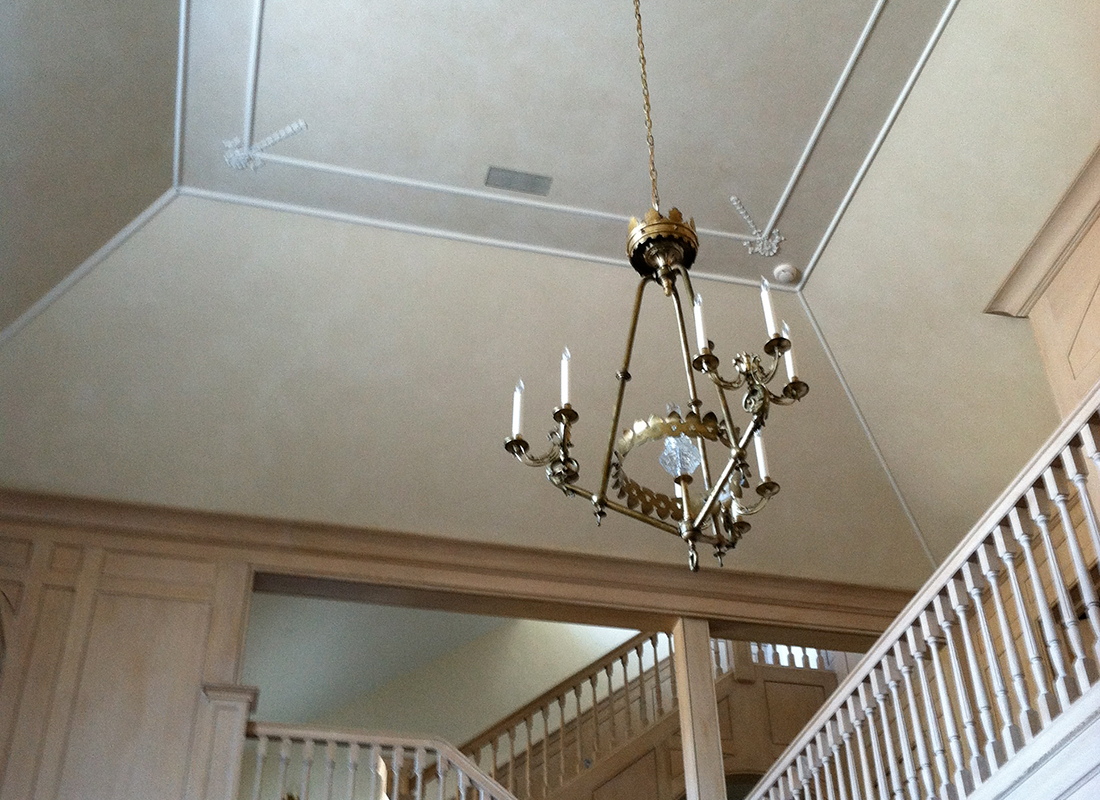 Greenwich CT - Ceiling Glaze