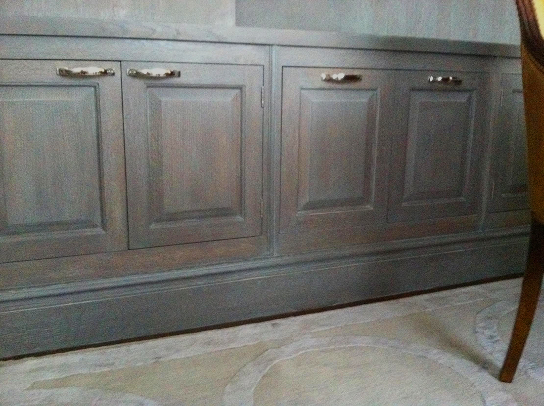 Cerused Oak - Cabinet Surface