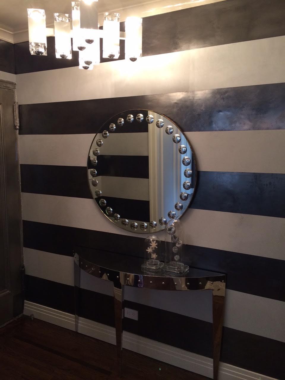 Entry- Venetian Terra Grosso & Classic stripes