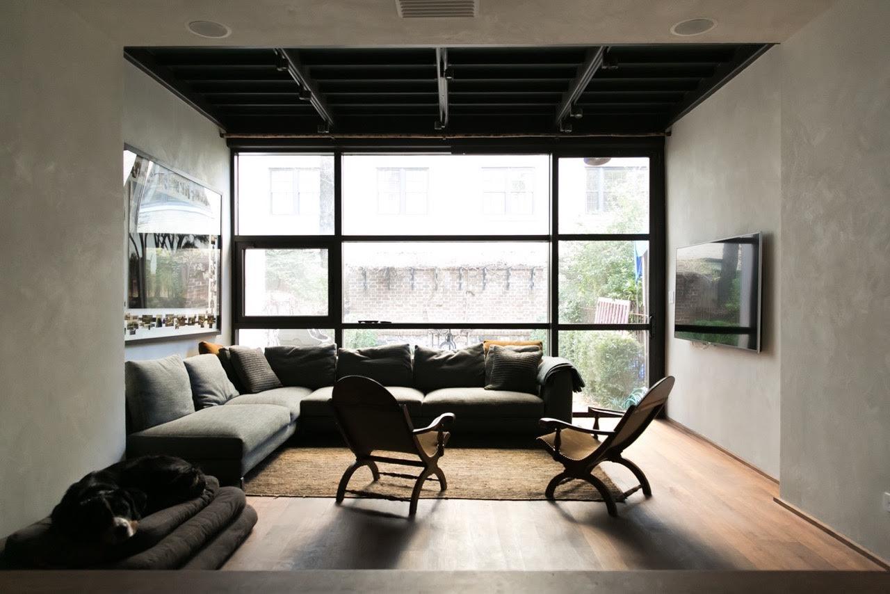 Family room - Terra Grosso plaster