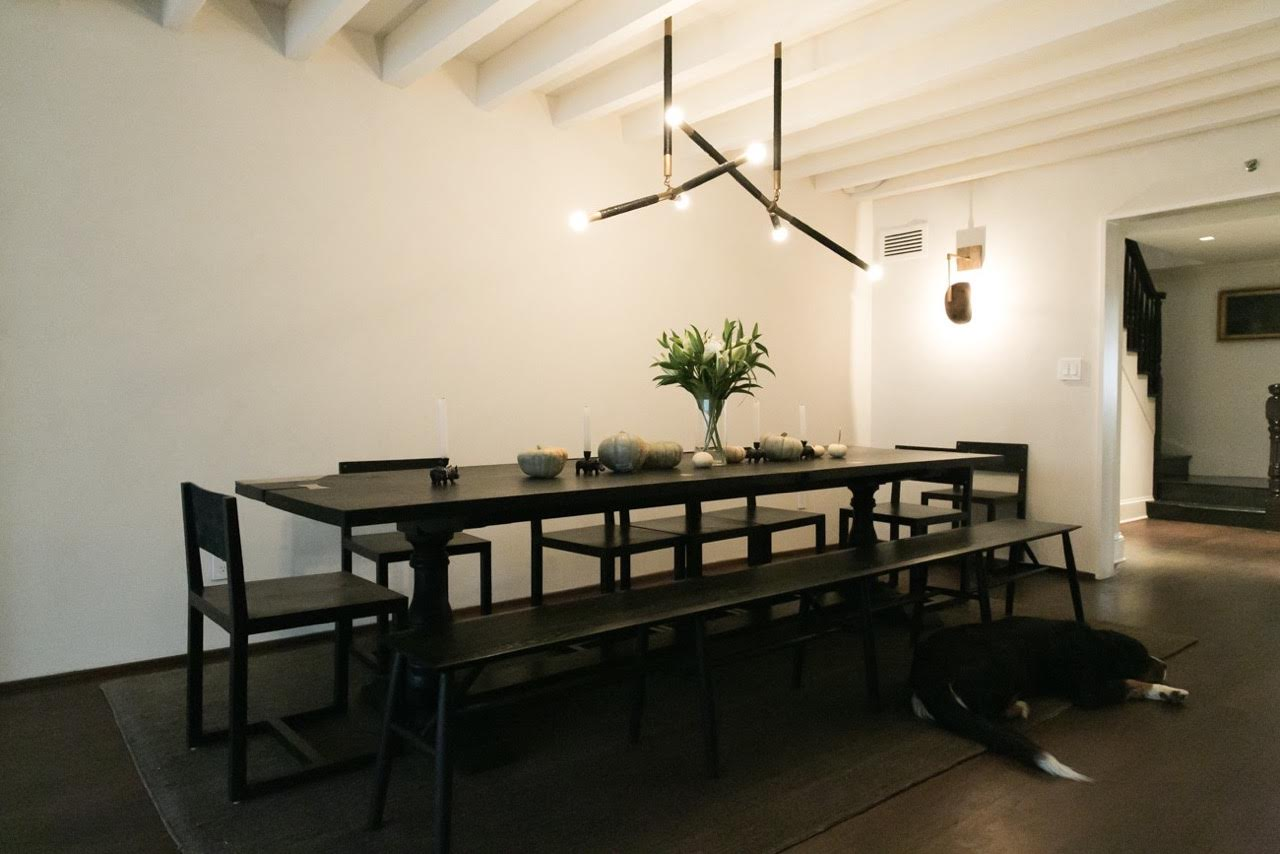 Dining area - Tera Grosso plaster