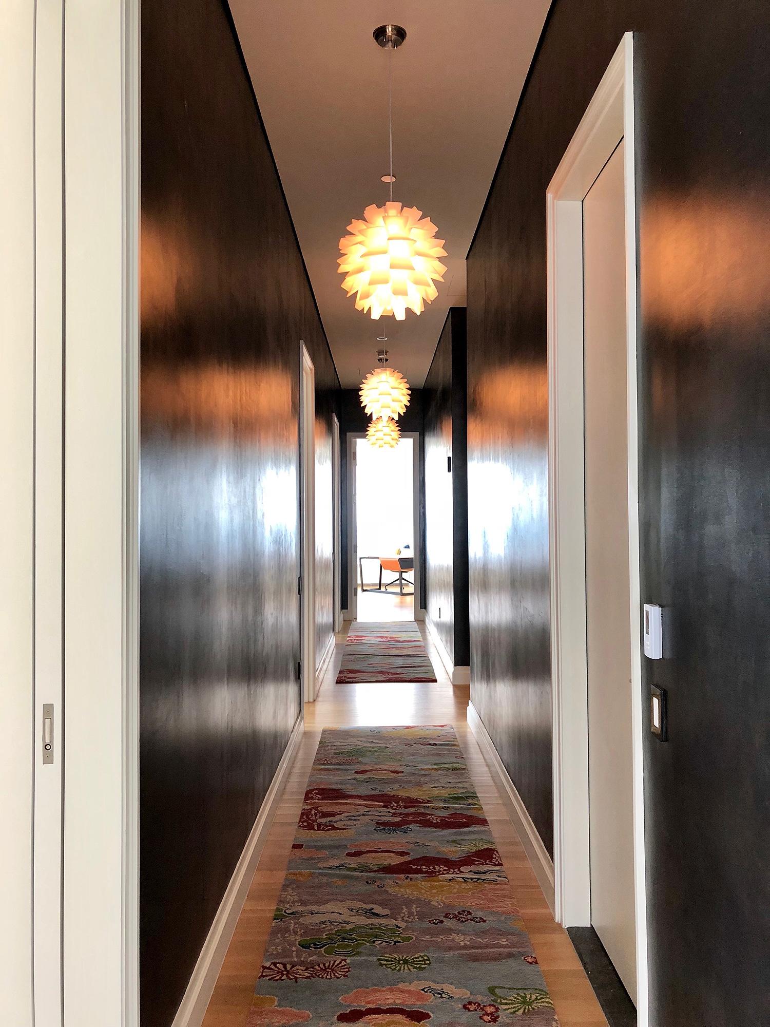 Black Hallway - Paint