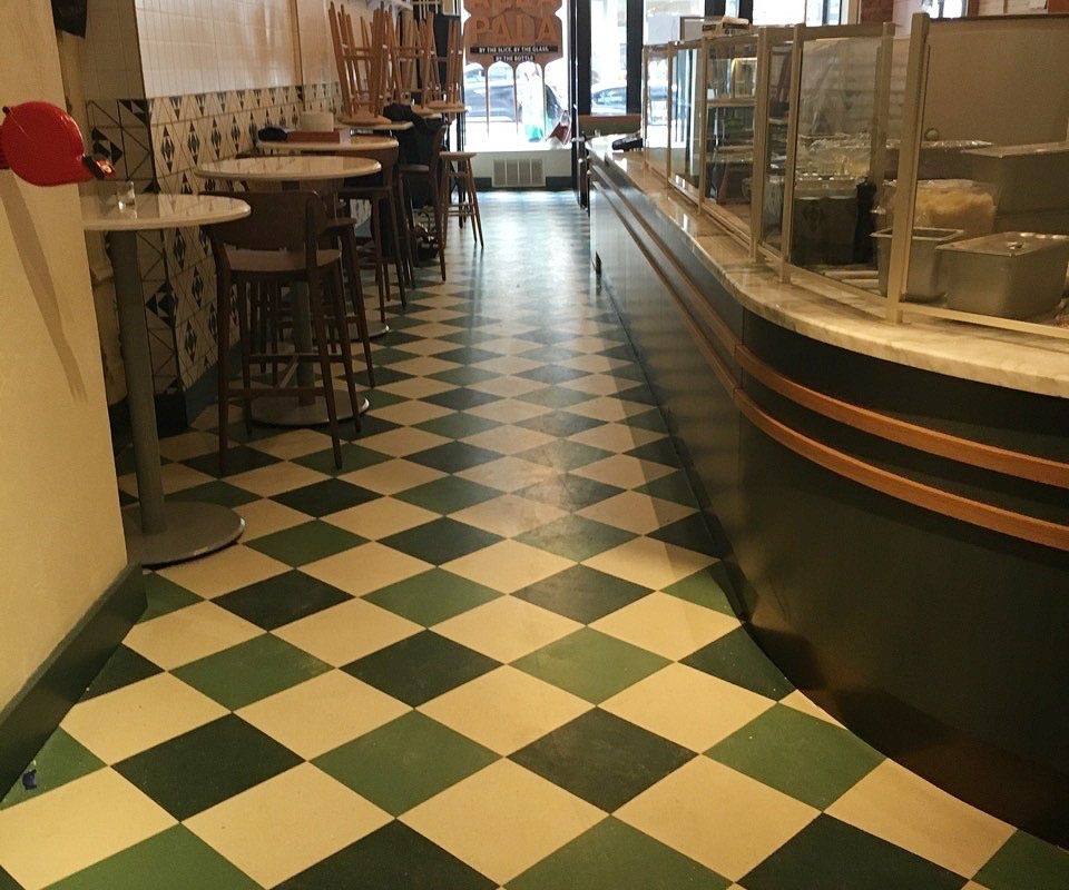 Hand Painted Floors